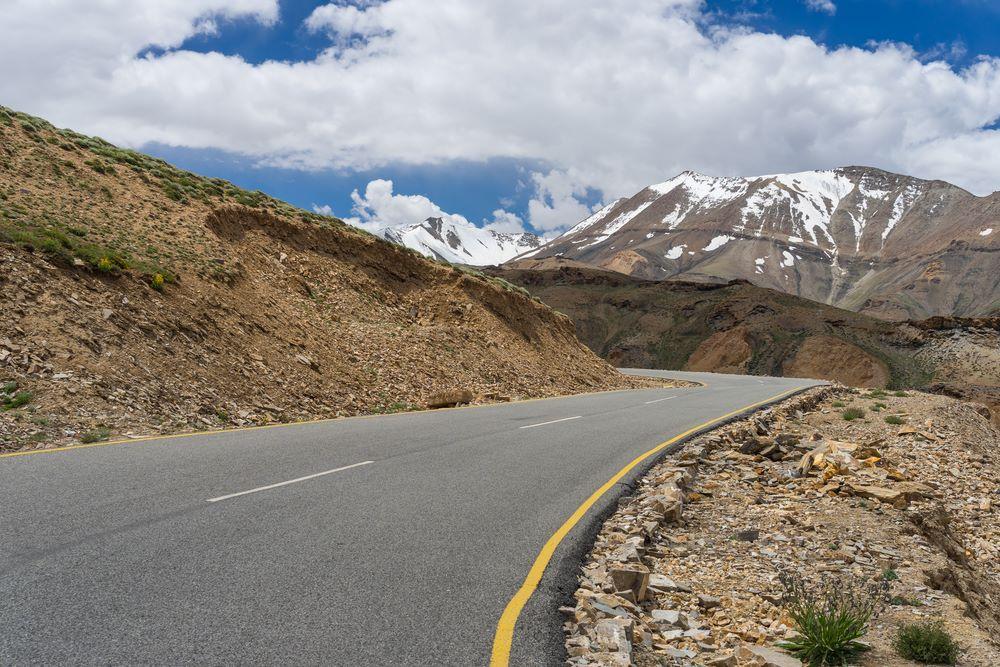 Major Routes ladakh